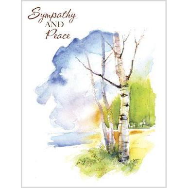 Sympathy and Peace - Birch Tree
