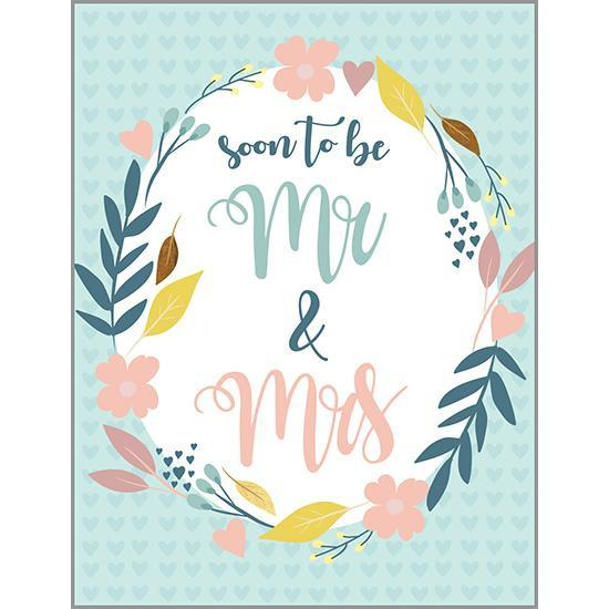 Soon to be Mr & Mrs Shower Card