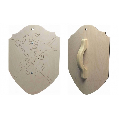 Large Wooden Shield
