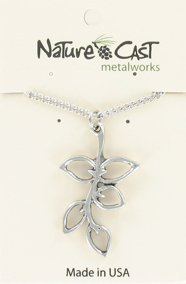 Leaves on Branch Pendant - 18