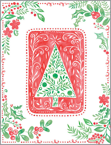 Nordic Tree Boxed Cards