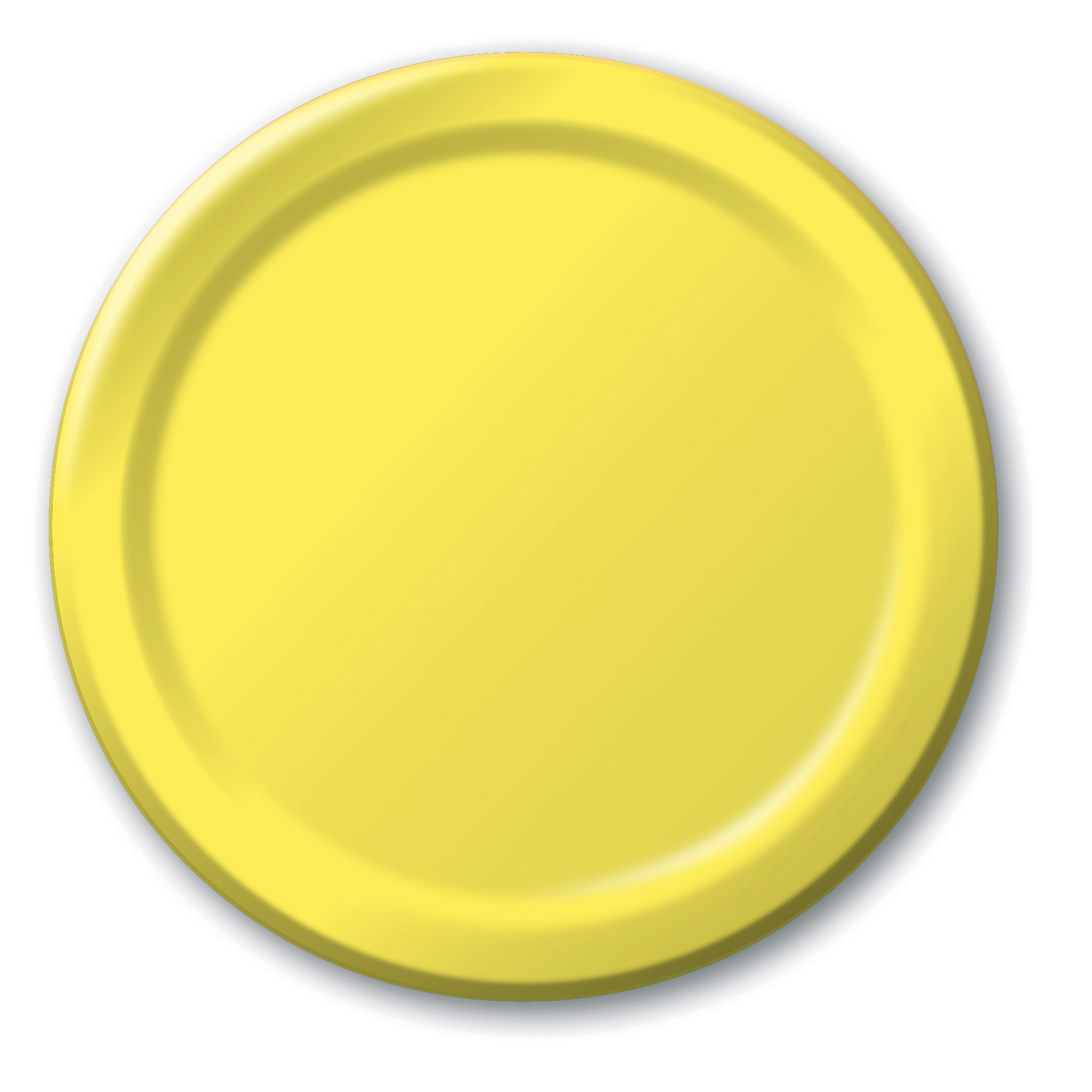 Mimosa Round Lunch Paper Plate