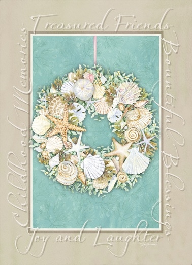 Treasured Friends Wreath Boxed Cards