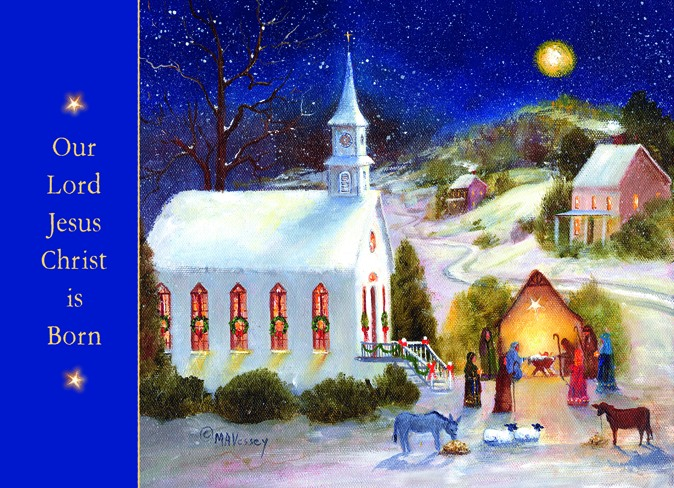 God's Most Precious Gift-Boxed Christmas Cards