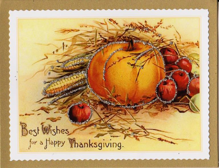 Thanksgiving Card-Pumpkin