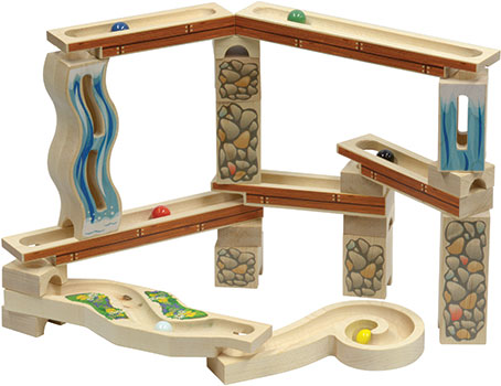Gold Rush Marble Mill Set