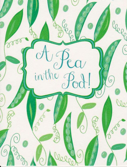 Pea in the Pod-New Baby Card