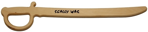 Scally Wag Wooden Sword