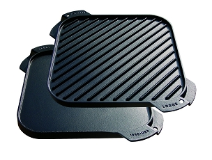 Lodge Single Burner Reversible Griddle