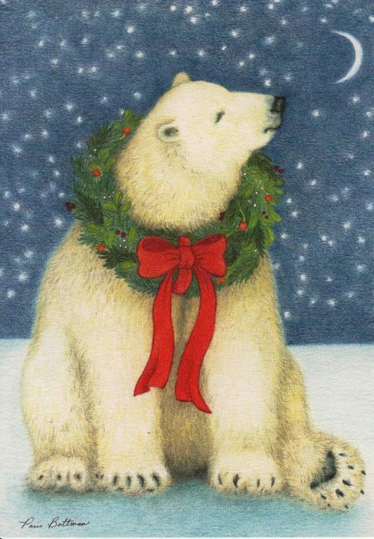 Starry Bear Boxed Christmas Cards