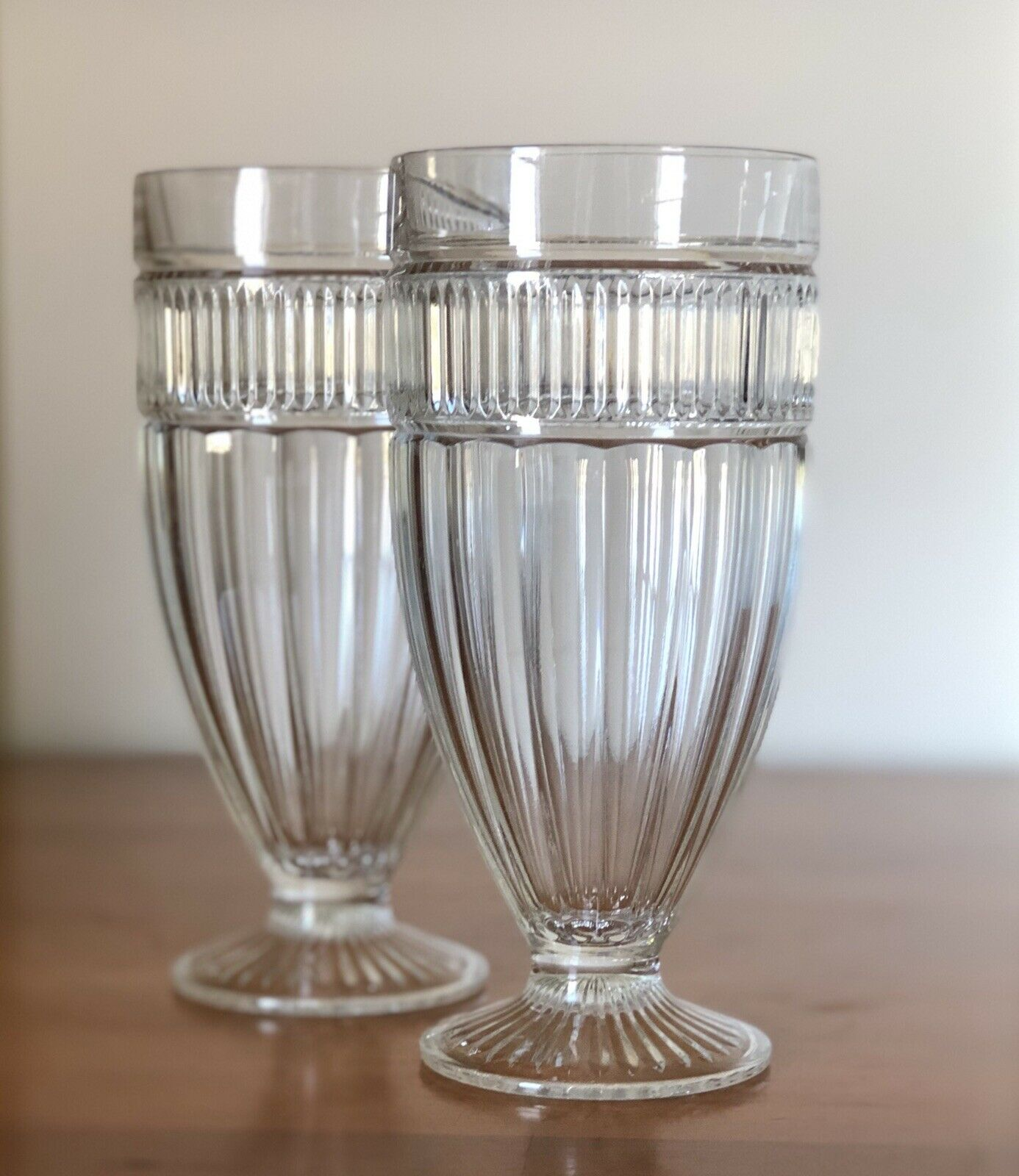 Annapolis Footed Glass Tumbler
