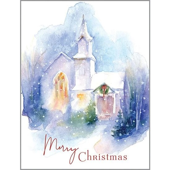 CHRISTMAS CHURCH BOXED CARDS