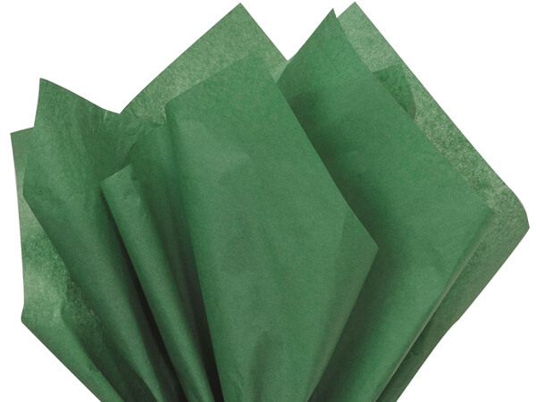 Tissue Paper Holiday Green