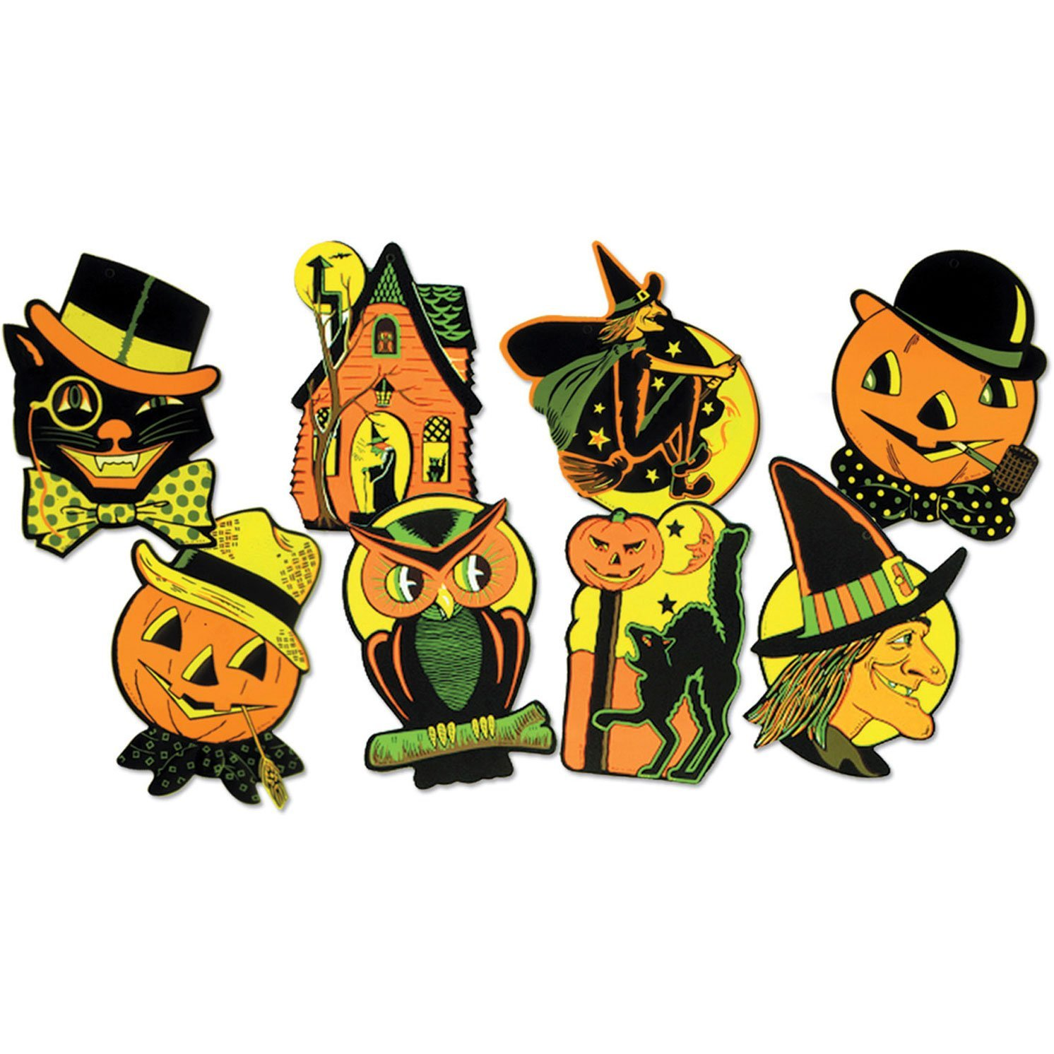 Halloween Cutout Decorations