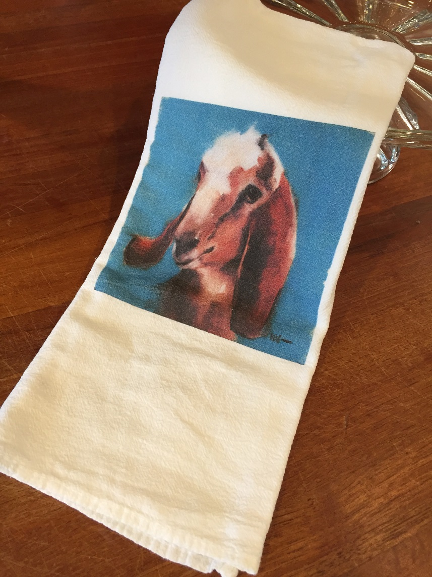 Gideon Tea Towel