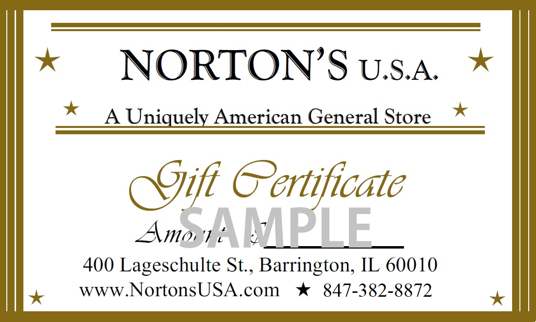Gift Certificate-$25