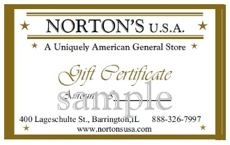 Gift Certificate-$75