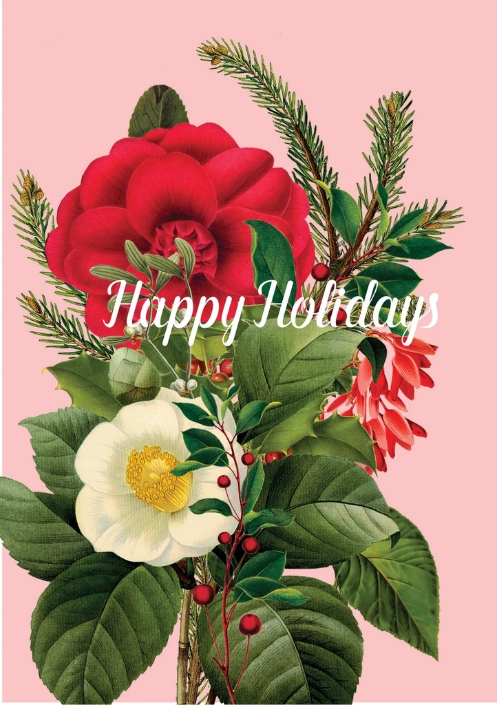 Happy Holiday Flowers