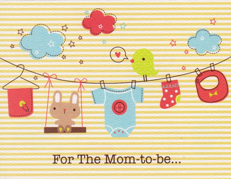 Mom To Be Greeting Card