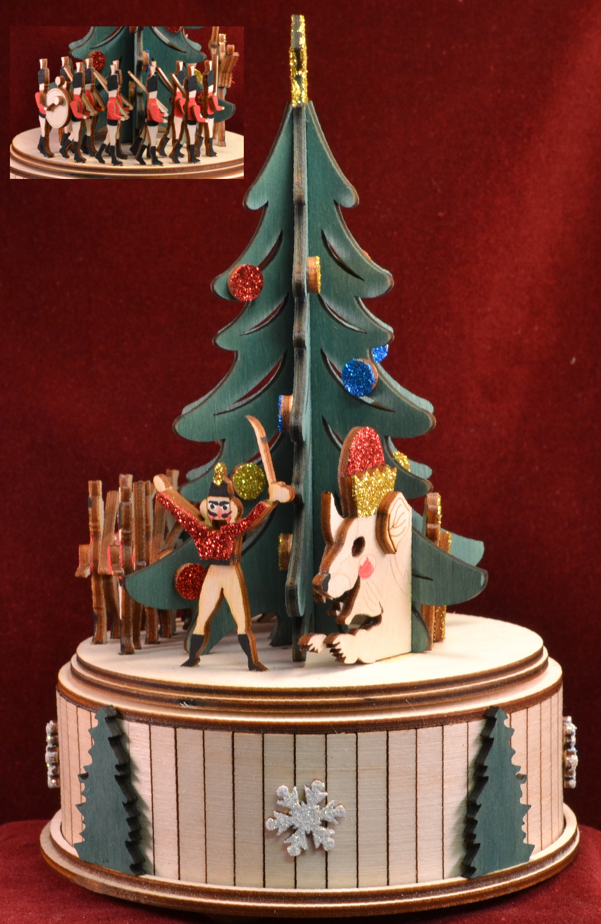 Parade of the Wooden Soldiers Music Box
