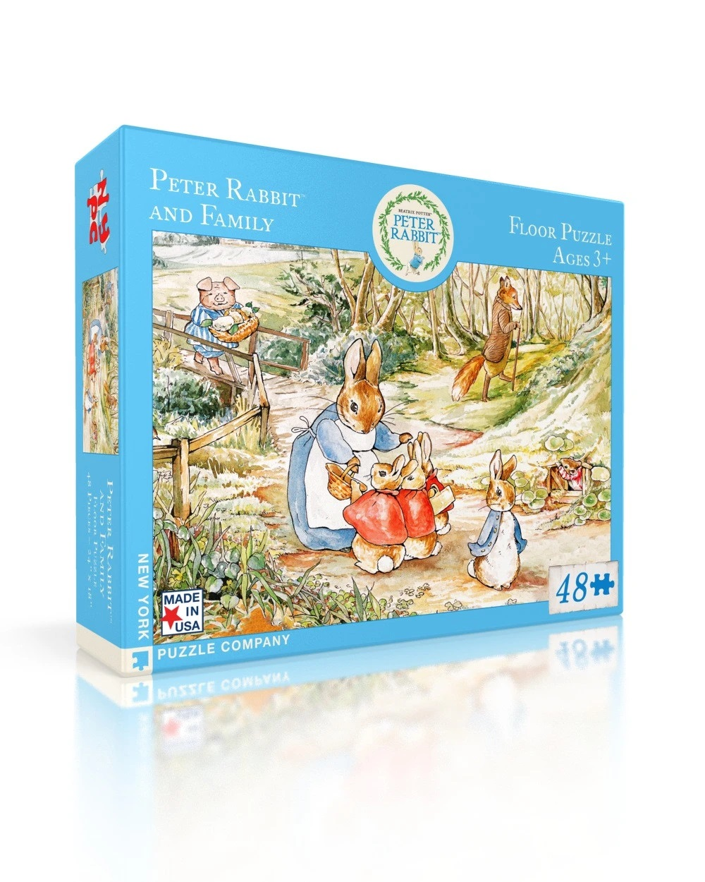 Peter Rabbit & Family Puzzle