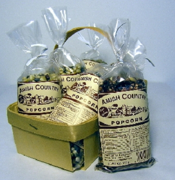 Sample Size Amish Gourmet Popcorn