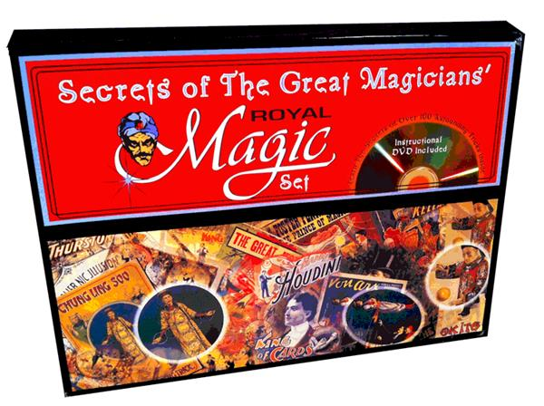 Secrets Great Magicians Set