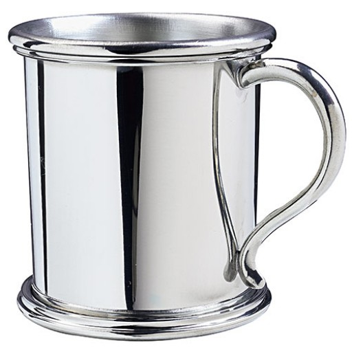 Pewter Tennessee Baby Cup