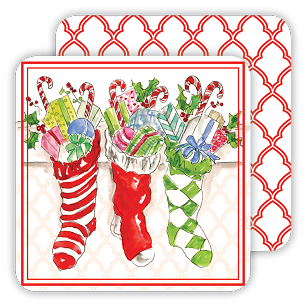 Holiday Stockings Coaster