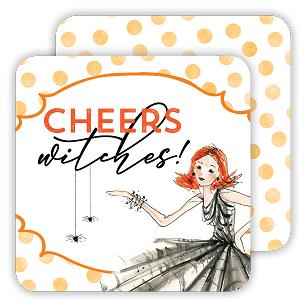 Cheers Witches Fashionista Coaster