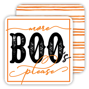 More Boo's Please Coaster