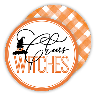 Cheers Witches Coaster Set