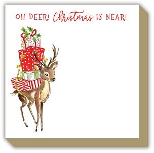 Luxe Notepad - Holiday Oh Deer!