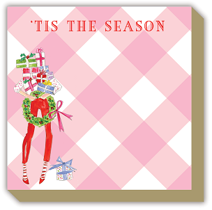Mini Luxe Notepad - Holiday Tis The Season