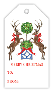 Christmas Reindeer/Happy Holiday Gift Tags