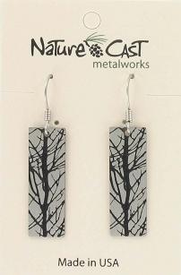 Abstract Branches Dangle Earrings