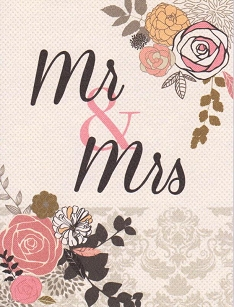 Mr. & Mrs Wedding Card