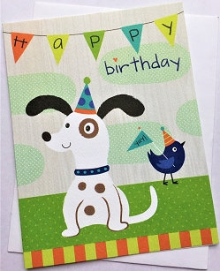 Birthday Puppy Card