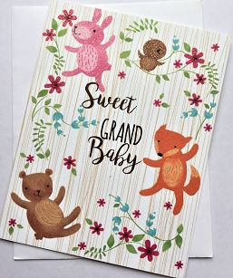 Sweet Grand Baby Forest Animals