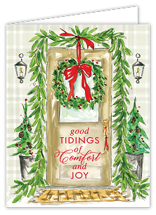 Front Door Holiday Décor Boxed Cards
