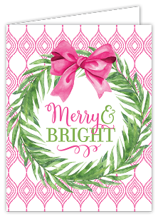 Merry & Bright Wreath Boxed Cards