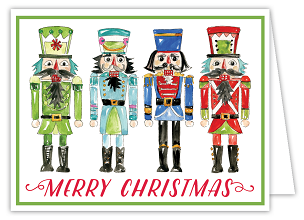 Merry Christmas Nutcrackers Boxed Cards