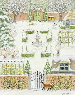 Winter Garden Advent Calendar