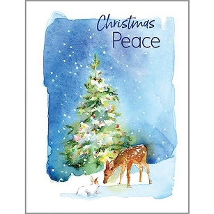CHRISTMAS PEACE BOXED CARDS