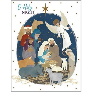 NATIVITY BOXED CARDS