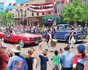 4th of July Parade 1000  Pc. Jigsaw Puzzle