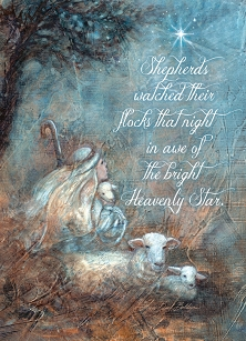 The Shepherds Holy Night Boxed Cards