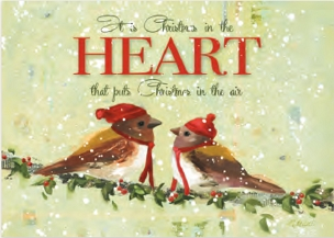 Christmas In The Heart-Boxed Christmas Cards
