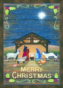 Merry Christmas Blessed Christmas Boxed Cards