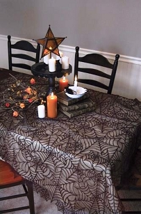 Spider Web Lace Tablecloth-60